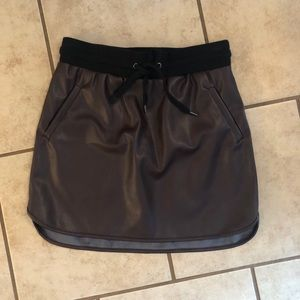 NWT Forever 21 Pleather Skirt